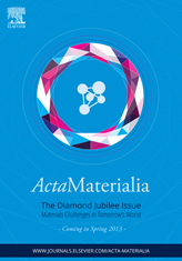 Advertorial 2013 <em>Acta</em>Materialia Diamond Jubilee Issue