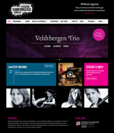 Website for SKMU, Chamber Music Foundation Utrecht.